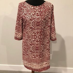 Dresses & Skirts - Shift dress fully lined 3/4 sleeve